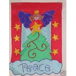 Tree Topper Garden Flag