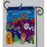 Up Up and Away Garden Flag