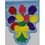 Tulip Bouquet Garden Flag