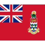 4ft. x 6ft. Cayman Islands Civil Flag Fringed Indoor Display