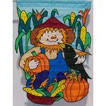 Harvest Scarecrow Decorative House Banner