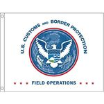 52 in. x 66 in. U.S. CBP OFO Flag for Outdoor Use
