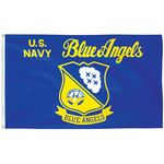 3 x 5 ft. Blue Angels Flag E-Poly