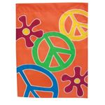 Peace Flower Housse Flag