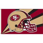 NFL San Francisco 49er's Flag