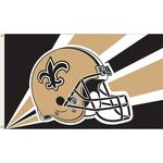 NFL New Orleans Saints Flag