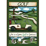 golfing House Flag