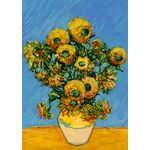 Van Gogh's Sunflowers House Flag