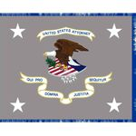 4.4ft. x 5.6ft. U.S. Attorneys Flags