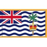 3ft. x 5ft. Diego Garcia flag with Fringe