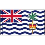 3ft. x 5ft. Diego Garcia Flag with lined Pole Sleeve