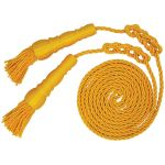 9ft. Yellow Cord and 6 in. Tassels