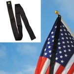 60 in. Black Mourning Ribbon