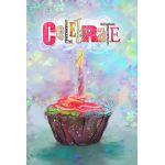 Celebrate Cupcake House Flag