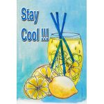 Stay Cool Lemonade House Flag