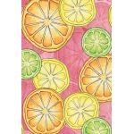 Citrus Toss House Flag
