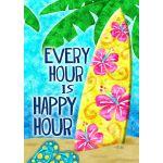 Happy Hour Surf House Flag
