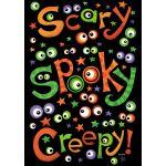 Scary Spooky Creepy House Flag