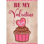 Valentine Cupcake Decorative House Flag