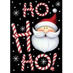 Ho Ho Ho Santa House Flag