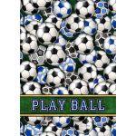 Soccer Balls House Flag