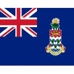 Size 8 Cayman Islands Flag with Canvas Header & Brass Grommets