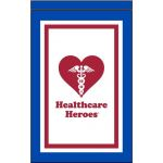 12 in. x 18 in. The Healthcare Heroes Garden Flag Banner