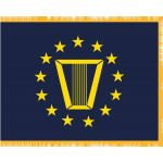 3ft. x 5ft. Navy Senior Executive Service Flag with Fringe Appliqued