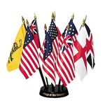 4 in. x 6 in. Flags of Our Country Set