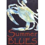 Coastal Blues Crab House Flag
