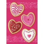 Heart Cookies House Flag