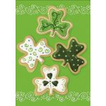 Shamrock Cookies House Flag