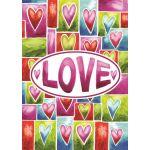 Valentine Love House Flag