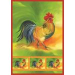 Rooster House Flag