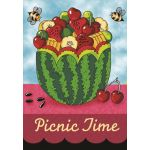 Picnic Time House Flag
