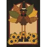 Quilted Turkey House Flag
