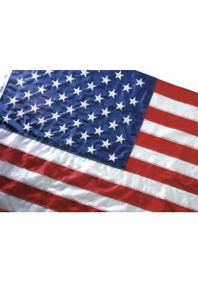 4 ft. x 6 ft. Eco-Glory US Flag Heading & Grommets