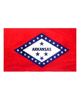 4ft. x 6ft. Arkansas Flag for Parades & Display
