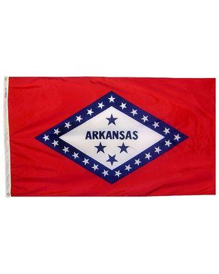 3ft. x 5ft. Arkansas Flag with Brass Grommets