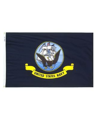 4ft. x 6ft. Navy Flag