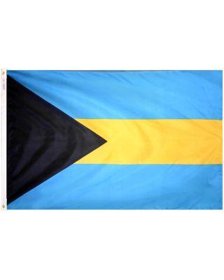2ft. x 3ft. Bahamas Flag with Canvas Header
