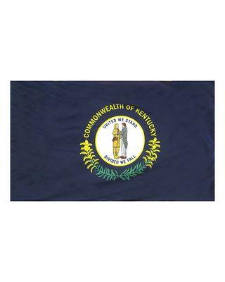 2ft. x 3ft. Kentucky Flag Side Pole Sleeve