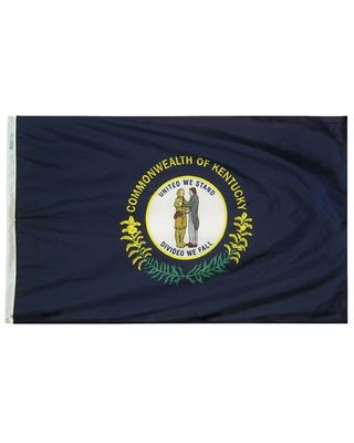 4ft. x 6ft. Kentucky Flag with Brass Grommets