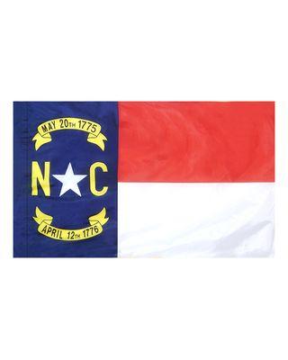 4ft. x 6ft. North Carolina Flag for Parades & Display