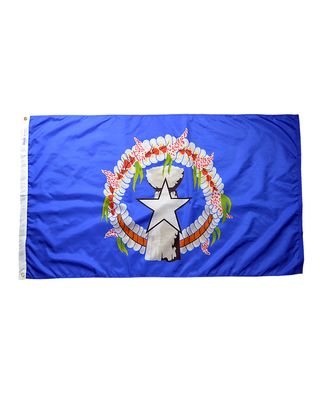 4 ft. x 6 ft. Northern Marianas Flag w/grommets