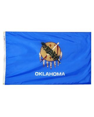 2ft. x 3ft. Oklahoma Flag with Brass Grommets