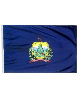4ft. x 6ft. Vermont Flag with Brass Grommets