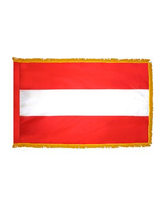 4ft. x 6ft. Austria Flag for Parades & Display with Fringe