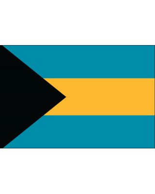 2ft. x 3ft. Bahamas Flag for Indoor Display