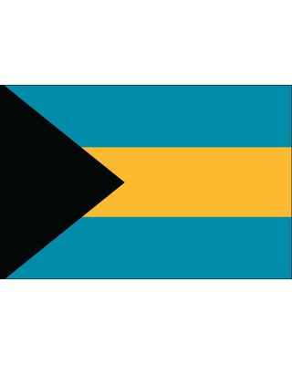 4ft. x 6ft. Bahamas Flag for Parades & Display